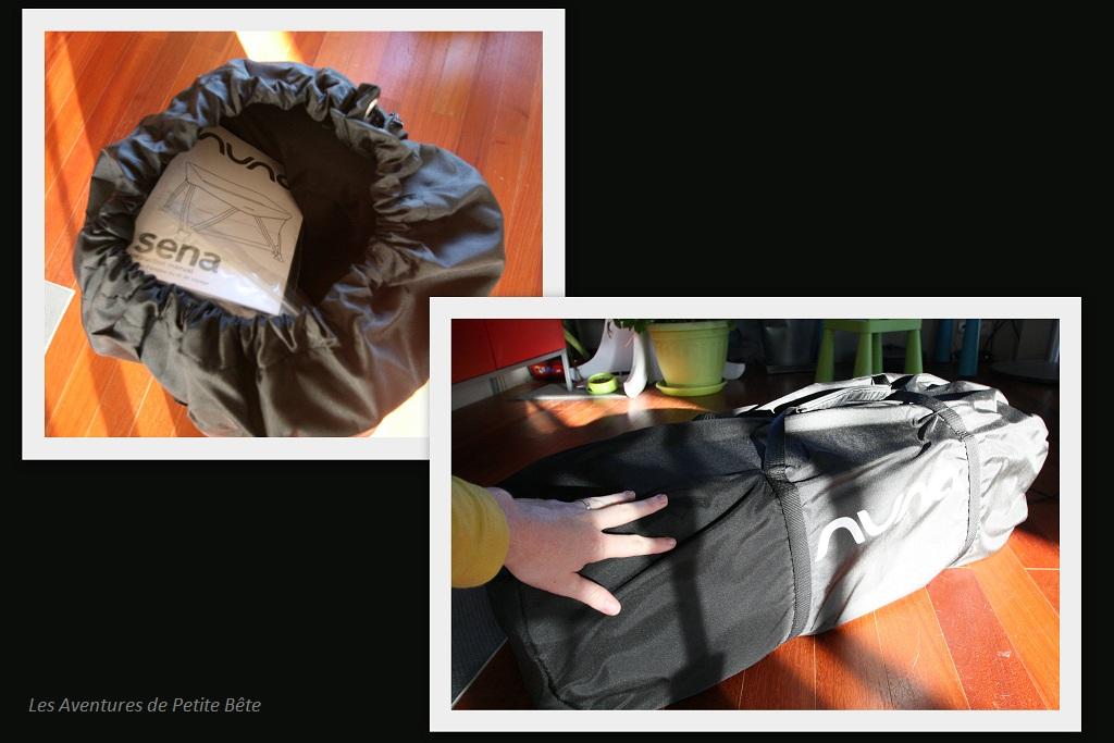 Sac de transport du lit Nuna, modèle Sena